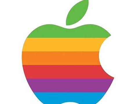 Apple Logo Evolution.