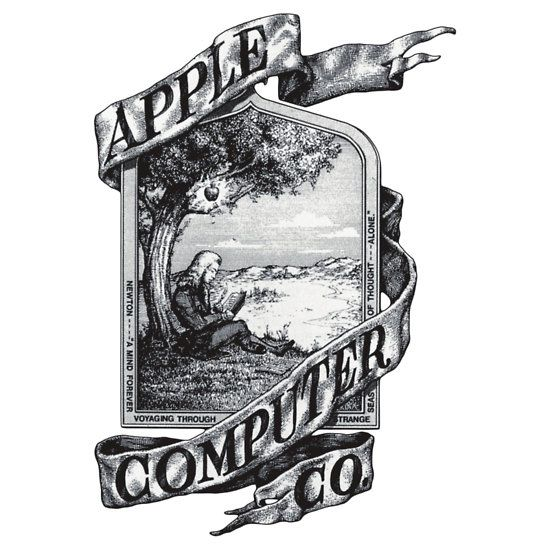 First Apple logo\' T.