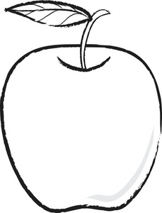 Apple Clipart Image.