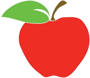 Apple education clipart.