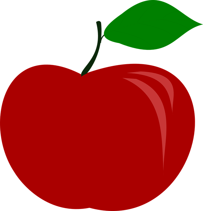 Free vector graphic: Apple, Fruit, Food.