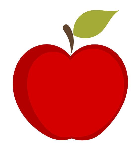 Apple Fruit Clip Art, Vector Images & Illustrations.
