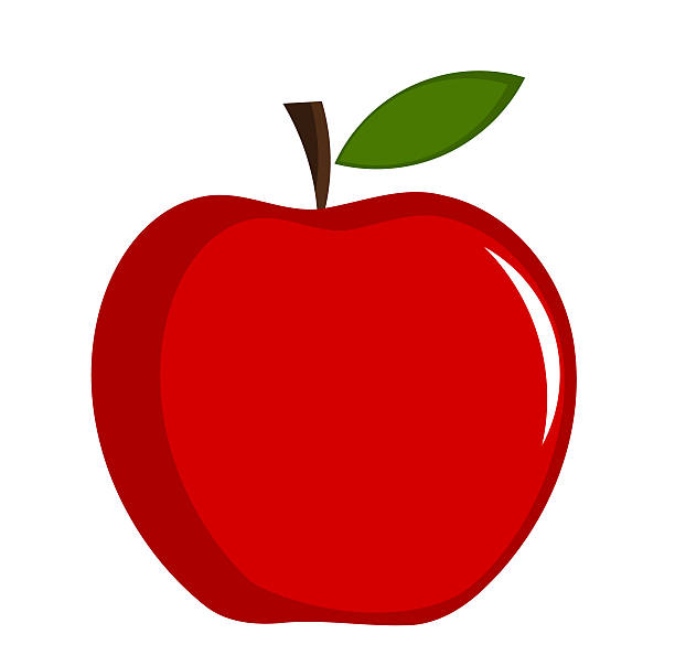 Apple Fruit Clip Art, Vector Images & Illustrations.