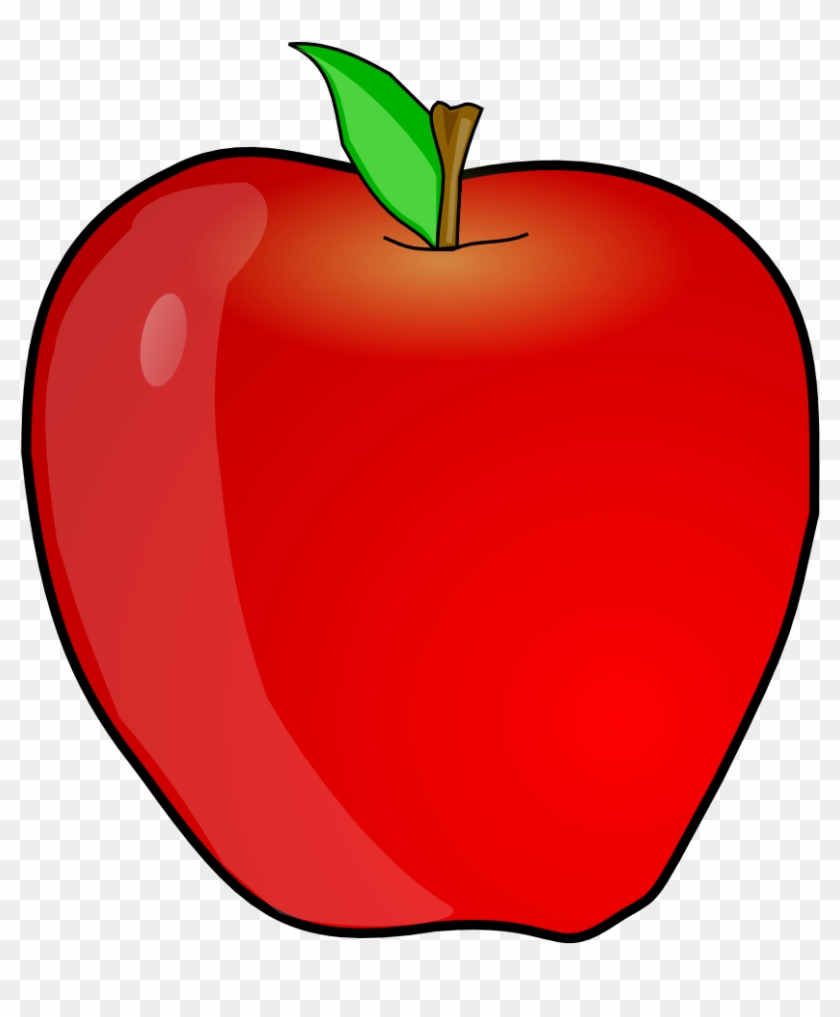 Red Apple Fruits Png Transparent Images Clipart Icons.