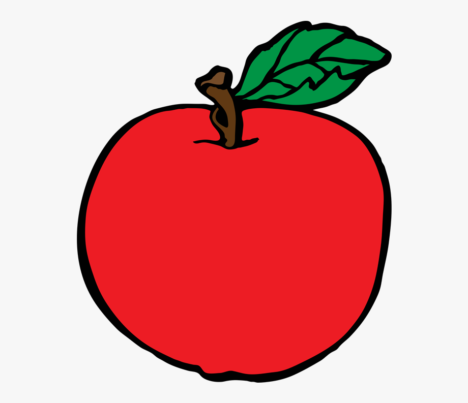Apple Fruit Free Clipart Names A With Pictures.