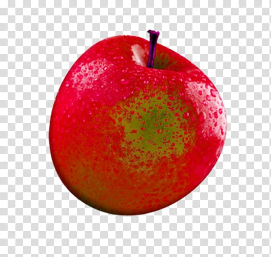 Apple Fruit 3D computer graphics, 3d creative fruit cartoon.