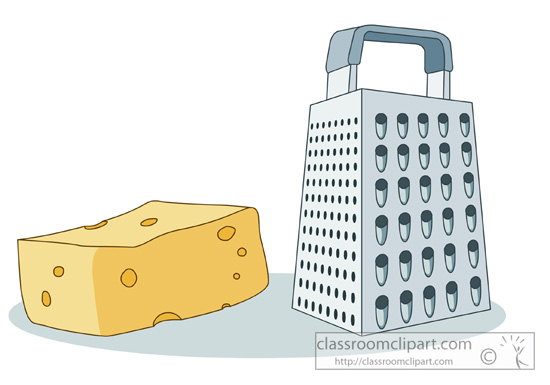 Cheese Grater Clip Art.