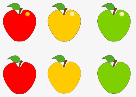 Free Red Apple Clip Art with No Background.