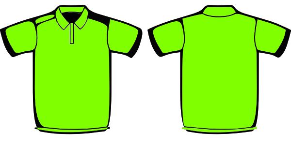Apple Green Polo Shirt Clip Art at Clker.com.