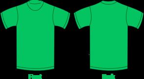 Plain Green Shirt Clip Art at Clker.com.
