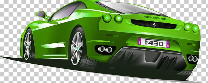 Sports Car Ferrari PNG, Clipart, Background Green, Brand.