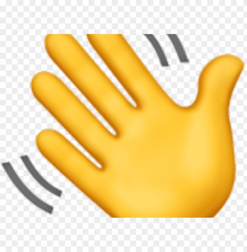 hand emoji clipart closed hand.