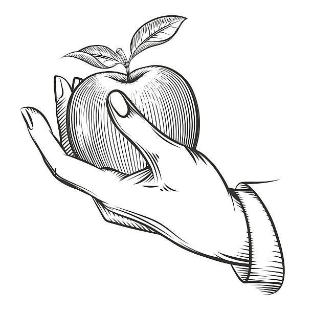 38896 Hand free clipart.
