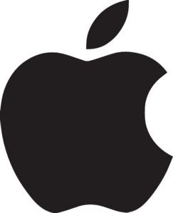 Apple Logo Clip Art at Clker.com.