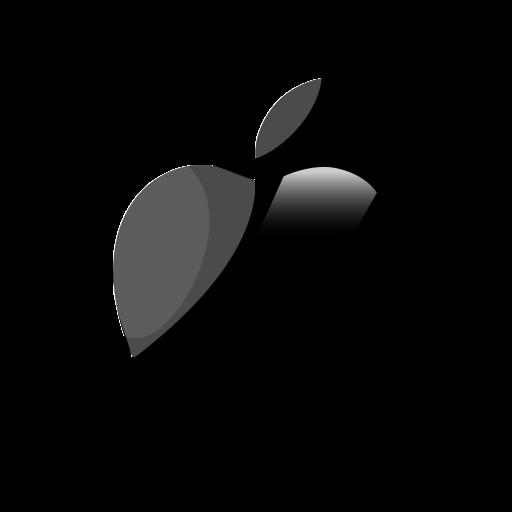 Apple, logo icon.
