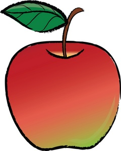 Clipart apple 2.