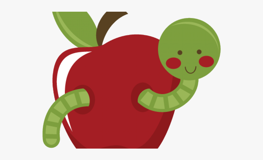 Apple Worm Cliparts.