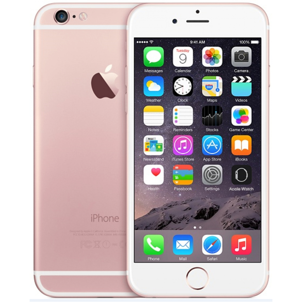 Apple iPhone 6S PLUS (64GB, Rose GOLD).