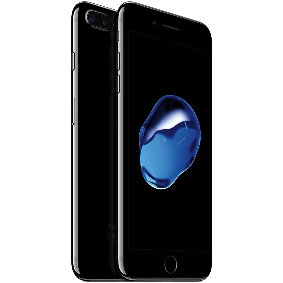 Apple iPhone 7 Plus iPhone 6S jet black Smartphone.