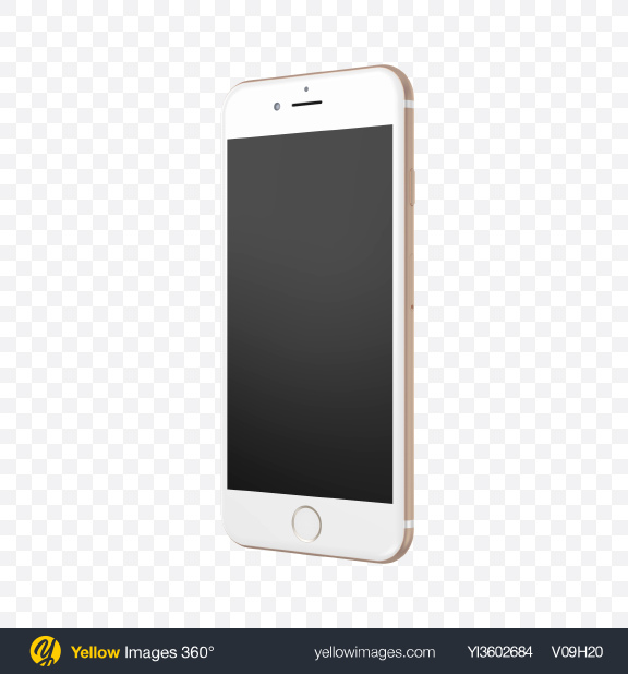 Download Apple iPhone 7 Transparent PNG on Yellow Images 360°.