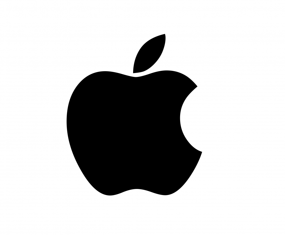 Iphone clipart apple logo.