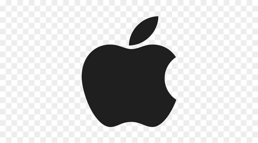 White Apple Logo clipart.