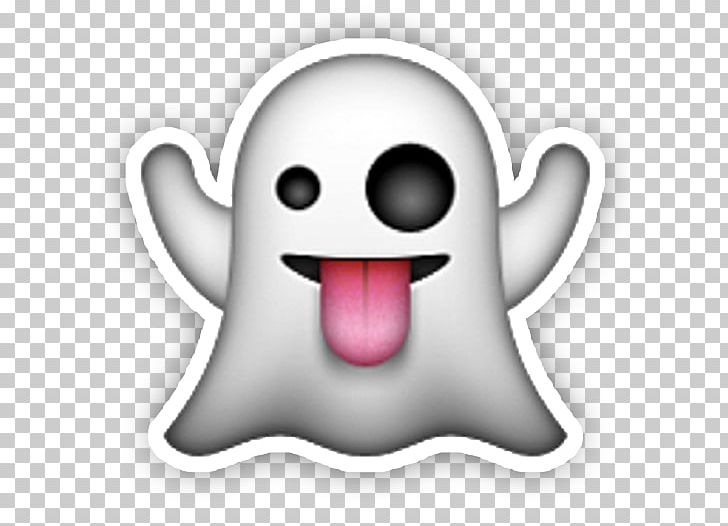 Sticker Apple Color Emoji Halloween Ghost IPhone PNG, Clipart, Apple.