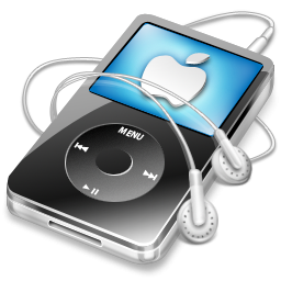 Apple IPod Black Icon, PNG ClipArt Image.