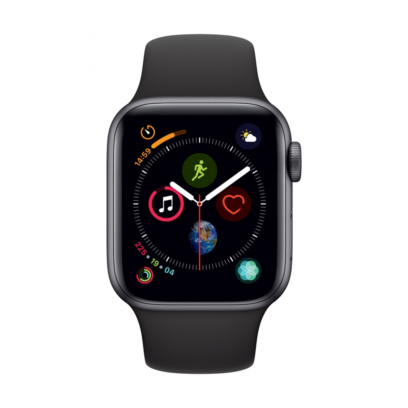 Apple Watch Series 4 GPS 40mm Space Grey Aluminium Case.