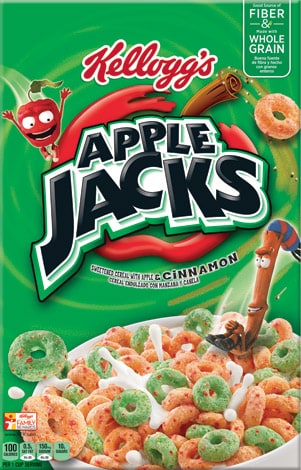 Apple jacks cereal Logos.