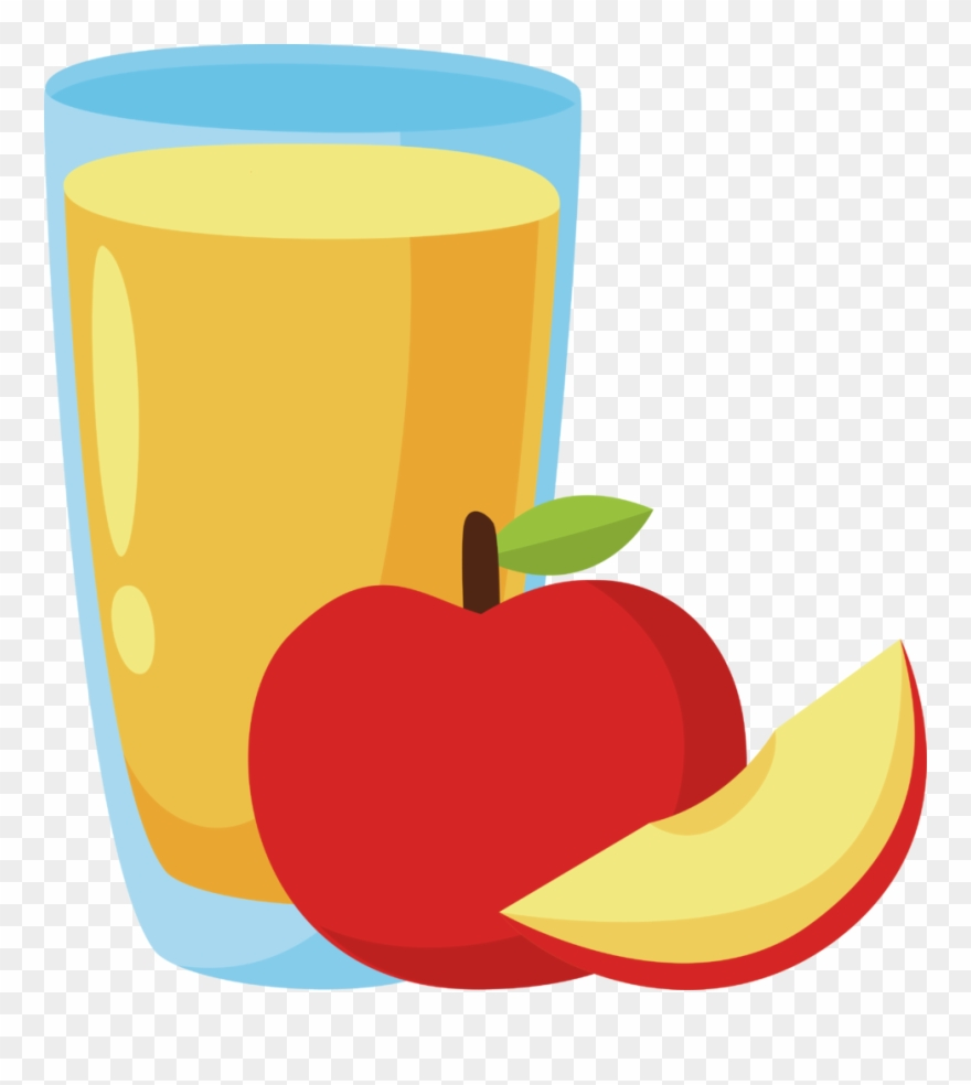 Apple And Banana Clipart 8 Clip Art Of Juice.