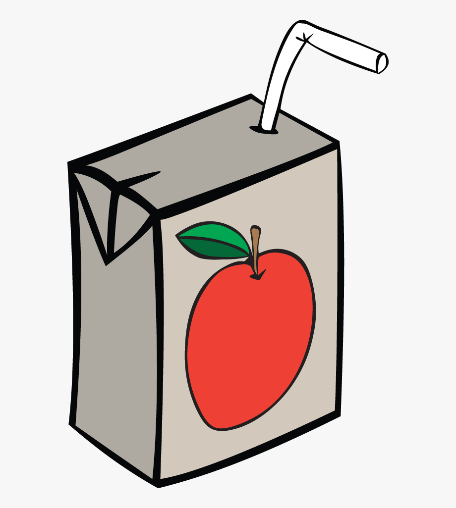Apple Juice Box.