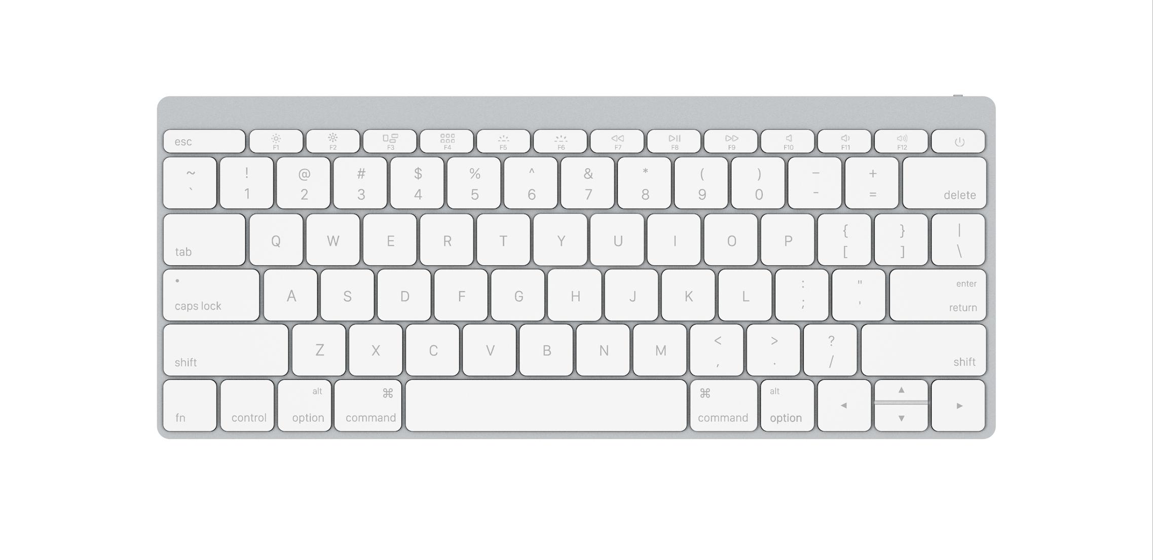 Visualizing a modern Apple Wireless Keyboard [Gallery].