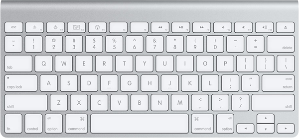 Apple introduces compact wired keyboard with new iMacs.