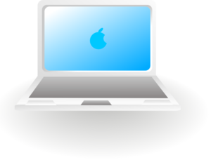 Apple Laptop Clip Art at Clker.com.
