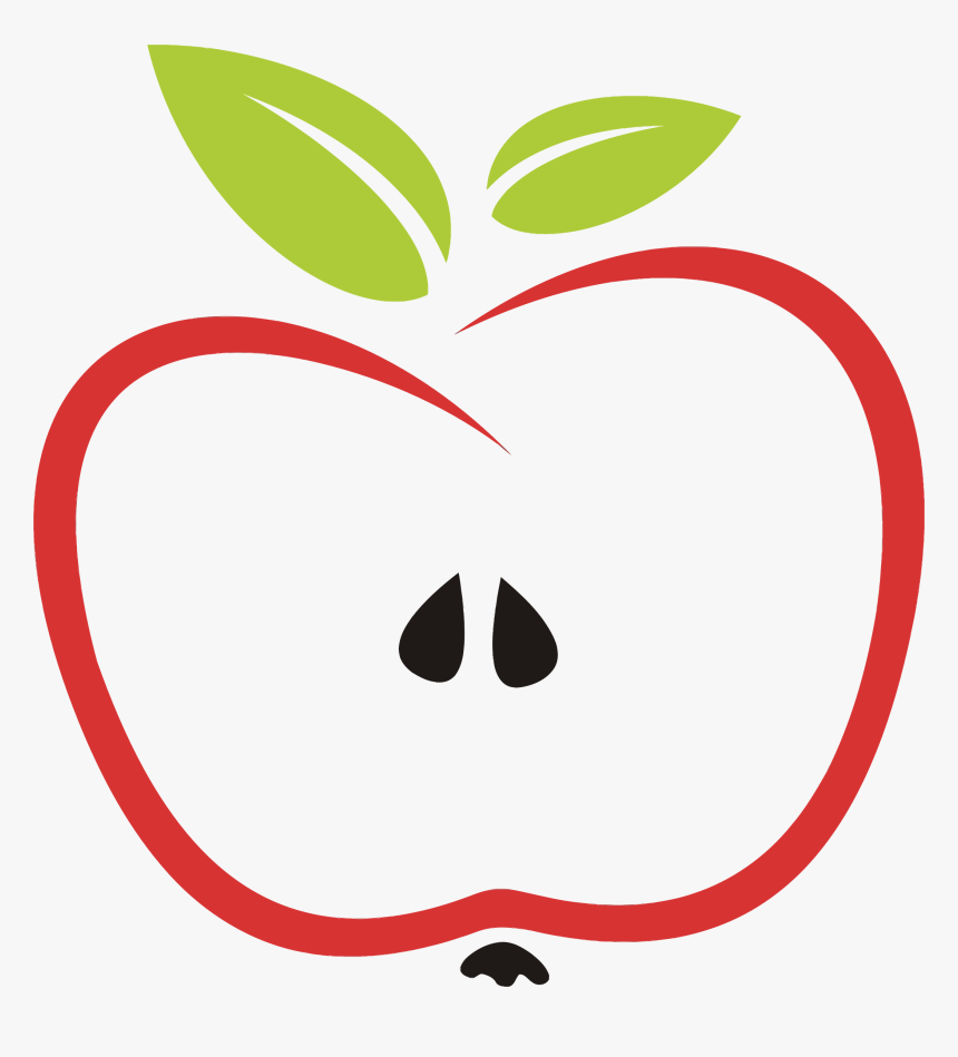 Apple Core Clipart.