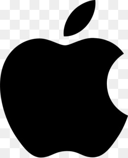 Black Apple Logo 512*512 transprent Png Free Download.