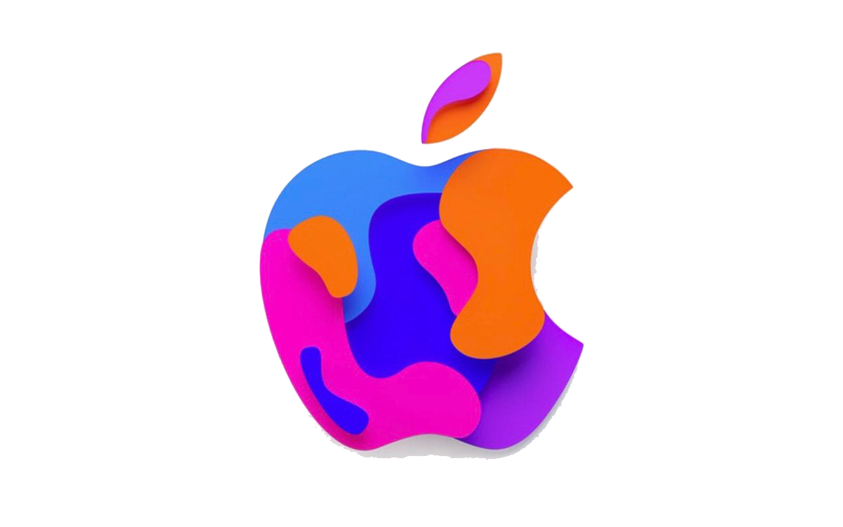 Apple Logo PNG Clipart.