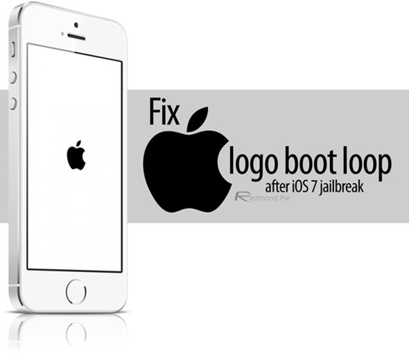 Fix iPhone Stuck At Apple Boot Logo Loop After iOS 7.