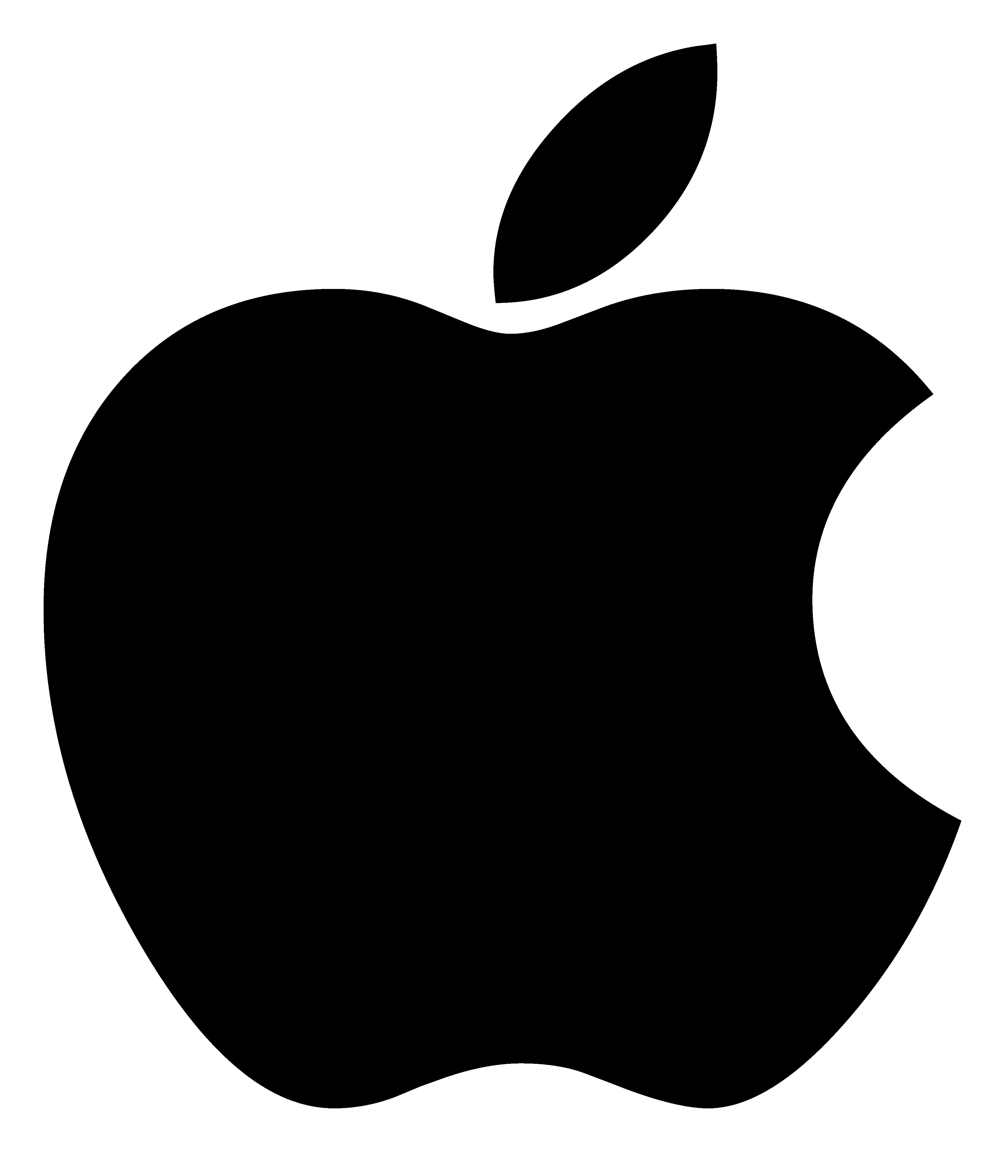 Apple Logo PNG Image.