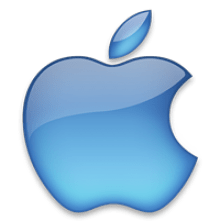 Apple Logo transparent background.