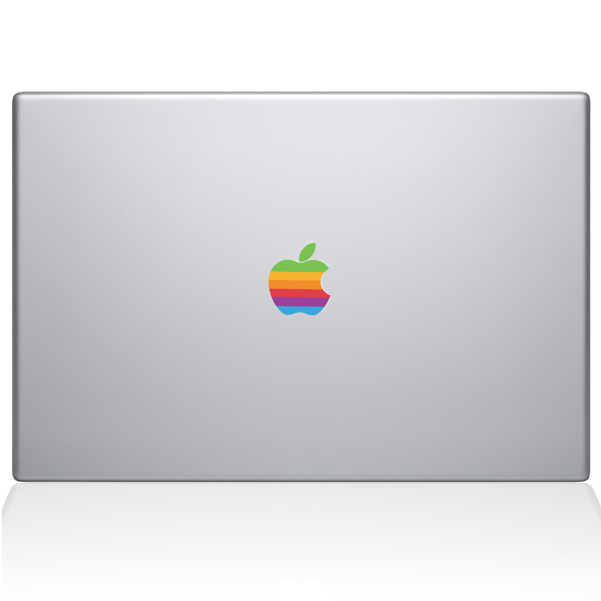 Retro Apple logo Macbook Decal.