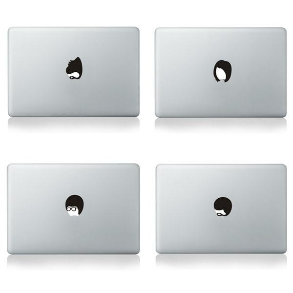 Wholesale Black Sticker For Apple Logo Sticker.
