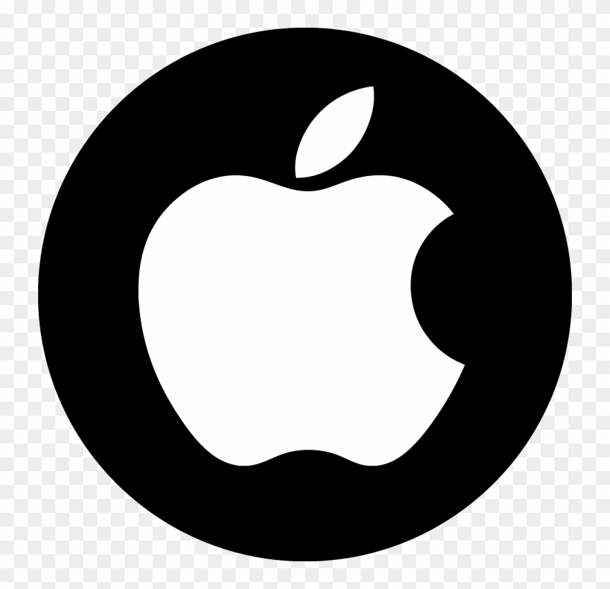 Apple Logo White Png Clip Art Transparent Library.