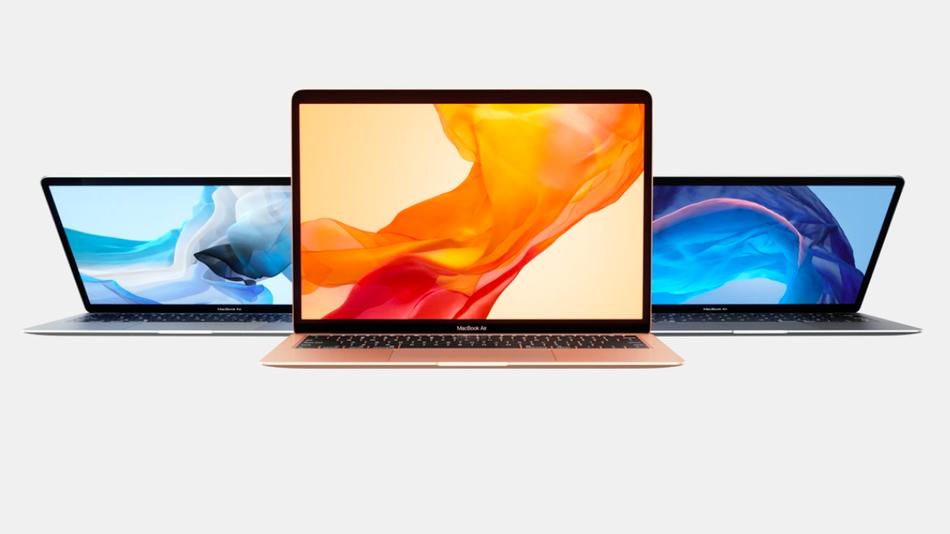 Apple unveils new MacBook Air with retina display.