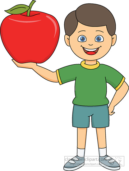 Apple males clipart #9