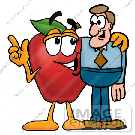 Apple males clipart #18