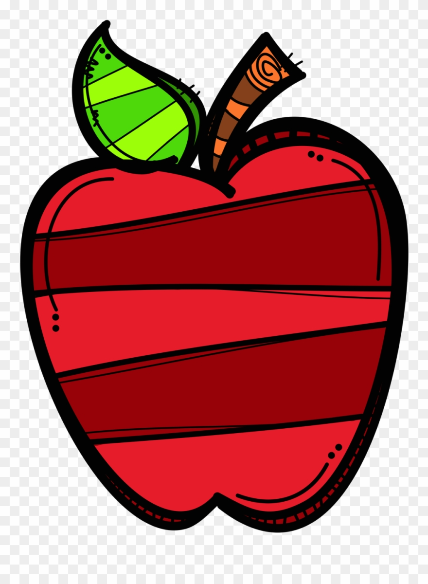 Apple Apple Clip Art, School Clipart, Teachers\' Day.