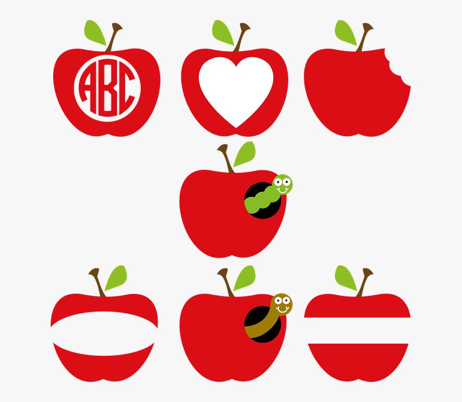 Apple, Apple Frame, Apple Monogram, Teacher, Classroom.
