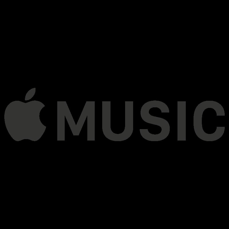 Apple Music logo vector (.eps) free download.